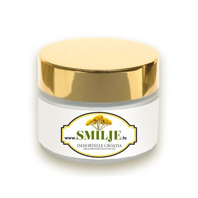 smilje immortelle helichrysum italicum croatia corsica cream anti aging