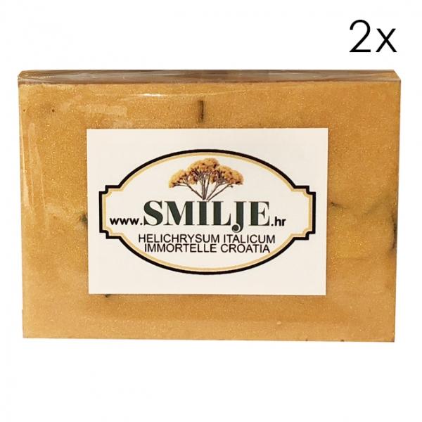 3 helichrysum italicum immortelle soap essential oil smilje croatia